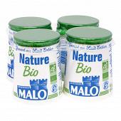 Malo yaourt nature bio 4 x 125g