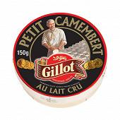 Gillot petit camembert au lait cru 150 g