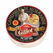Gillot camembert AOP noir de Normandie 250g 22% mg