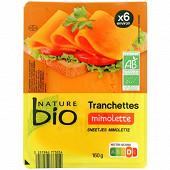 Nature bio tranchettes mimolette bio 160g