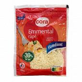 Cora râpé emmental sel réduit  -30% de sel 150g