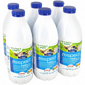 Cora lait filière demi-écrémé bouteille 6x1l
