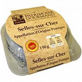 Patrimoine gourmand Selles sur Cher AOP au lait cru 150g
