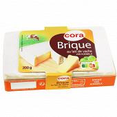 Cora brique au lait de vache pasteurisé 200 g