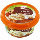 Cora fromage à tartiner aux noix 150g