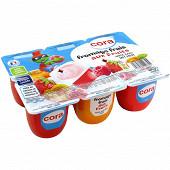 Cora Kido fromage frais aux fruits 6x100g