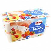 Cora yaourt aux fruits mixés 16 x 125g