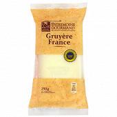 Patrimoine gourmand gruyère de France IGP au lait cru 250 g