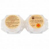 Patrimoine gourmand crottin de Chavignol AOP au lait cru 2x60g