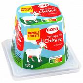 Cora fromage de chèvre au lait pasteurisé - 12%mg - 150 g