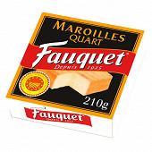 Fauquet maroilles AOP quart 210g