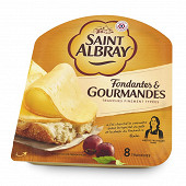 Saint Albray tranches onctueuses et généreuse 130G