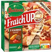 Buitoni fraich'up pizza suprême viande 590g