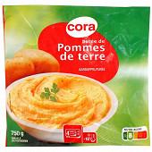 Cora purée de pommes de terre cuisinées 750g