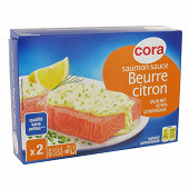 Cora saumon sauce beurre citron 400g