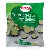 Cora courgettes en rondelles 1kg