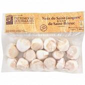 Patrimoine Gourmand noix de Saint-Jacques de la baie de Saint-Brieuc 300g