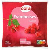 Cora framboises 600 g