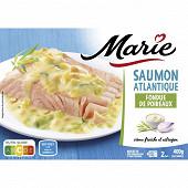 Marie saumon de Norvège fondue de poireaux et crème fraiche 400g