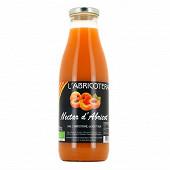 Nectar d'abricot rouge du roussillon bio 75 cl