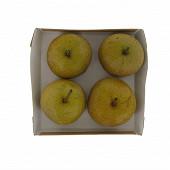 Poire nashi bio barquette 4 fruits
