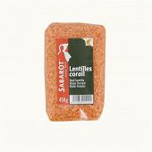 Lentilles corail sachet 450g