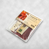 Cheval : Carpaccio Parmesan Olive