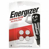 Energizer 4 piles boutons LR44/A76
