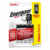 Energizer 8 piles Max AAA (lr03)