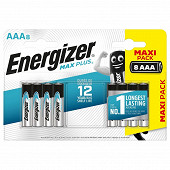Energizer 8 piles alcalines AAA max plus