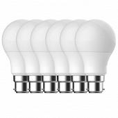 Gétic ampoule LED A 60 équivalent 60W B22 2700k lot de 6