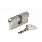 Yale cylindre de serrure débrayable série 1000+, 30x30mm, nickelé, 6 goupilles, 4 clés réversibles