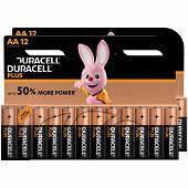 Duracel piles alcalines plus power AA lot de 12x2