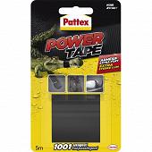 Pattex power tape auto moto noir 5 m