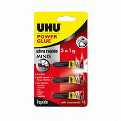 Power glue ultra rapide minis 3x1g