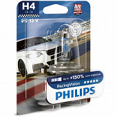 Philips lampe H4 racing vision +150% 12V 60/55W