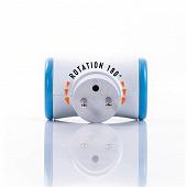 Watt&Co biplite rotative 180° bleue - 2 ports 16A