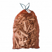 Difeudis bois d'allumage à usage dommestique filet 40L mélange bois blanc
