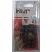 Prodelect barrettes de connexion noires 10mm2