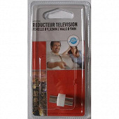 Prodelect reducteur tv male 9mm/femelle 9.52mm