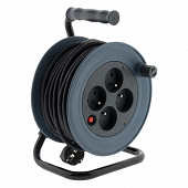 Zenitech enrouleur compact 15m gris 3G1mm
