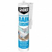 Sader mastic bain cuisine blanc 280ml