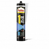 Pattex colle polymer one for all universal cartouche de 390 gr