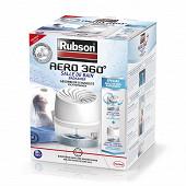 Rubson absorbeur d'humidité pour salle de bain AERO 360° + 1 recharge ultra absorbante