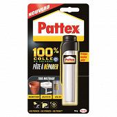 Pattex 100% colle pâte à réparer 64 gr