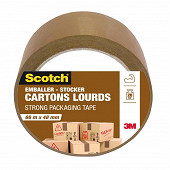 Scotch emballer stockage havane 66mX48mm