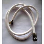 Techniloisir flexible tressé nylon blanc 1,50m réf 005625