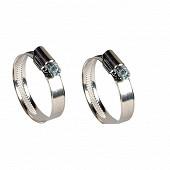 Techniloisir colliers de serrage 18/28 2 pièces ref 004146