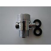 Techniloisir arrêt de douche chromé réf 004381