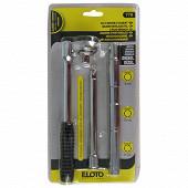 Elooto clé à bougie à cliquet  D-8-10-12 mm spécial diesel